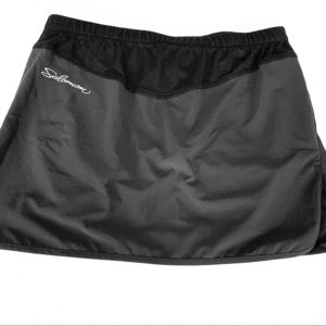 SALOMON running skort black sz L 🔥